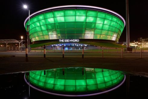 The SSE Hydro in Glasgow, Scotland. Photograph: Sandy Young