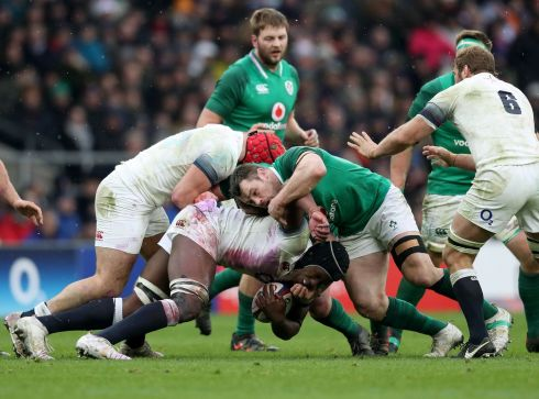 <b>1. Cian Healy 7</b> Act two. The real Healy achievement is to regain and keep the jersey off Jack McGrath even as the Lions loosehead came on strong as the tournament rolled towards this momentous day. Part of a rock-solid scrum, eight tackles, menacing.  Photograph: Inpho