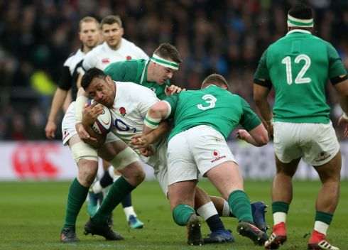 <b>3. Tadhg Furlong 9</b> Fourteen hits, 12 rumbles and an outhalf's touch to put Bundee Aki into the open for CJ Stander's try. The man of the match, the Campile king, a legend in his own skin at just 25, the road ahead is unknown but anything is possible when he holds the Ireland scrum. Photograph: PA