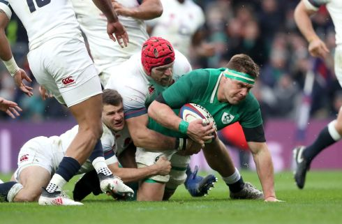 <b>8. CJ Stander 9</b> Astronomical numbers – 23 carries for 41 metres and 11 tackles – puts him firmly on course to be named world player of the year, never mind Ireland's best and certainly the most consistent performer throughout the Six Nations. What madness by the Springboks (saying he was too small for backrow and should switch to hooker!) Photograph: Inpho