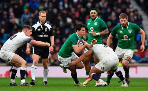 <b>Bench 7</b> Seán Cronin's try-saving tackle on Mike Brown among other cameos – like Andrew Porter's physicality, Jordan Larmour almost breaking free and Joey Carbery's poise – was enough to hold off the late English surge. Photograph: Getty Images