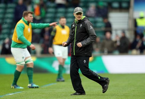 <b>Head coach 9</b> The Stander try was conjured straight from the Joe Schmidt playbook. The ultimate strategist, only one more trophy eludes him on a nine-year odyssey through Irish rugby. Photograph: PA