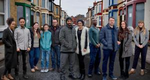 £1 for a house: some of the Liverpool housebuyers. Photograph: Channel 4