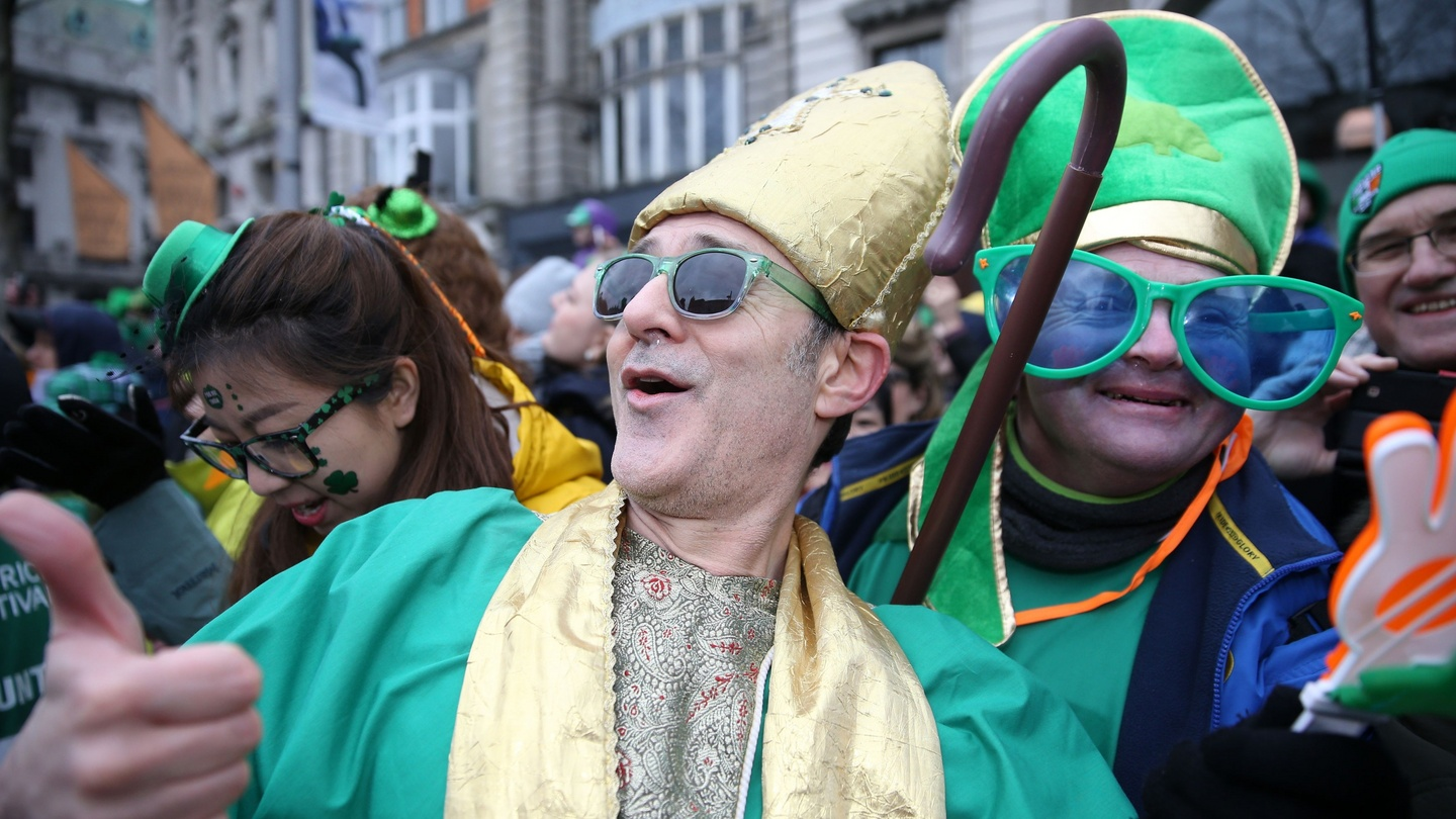 1edf802598 How to hide on St Patrick s Day  dress as a leprechaun