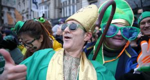 How to hide on St Patrick's Day: dress as a leprechaun