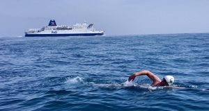 Wesley Nolan (39) became the first deaf Irish person to swim the English Channel last summer.  Photograph: Wesley Nolan