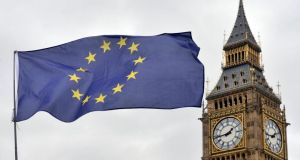 Brexit: the Commons committee says London has made little progress on the problem of how to maintain an open Irish Border if the UK leaves the customs union and single market. Photograph: Victoria Jones/PA Wire