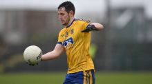 Roscommon's Ciarain Murtagh impressed as his team beat Cavan. Photograph: Tommy Grealy/Inpho