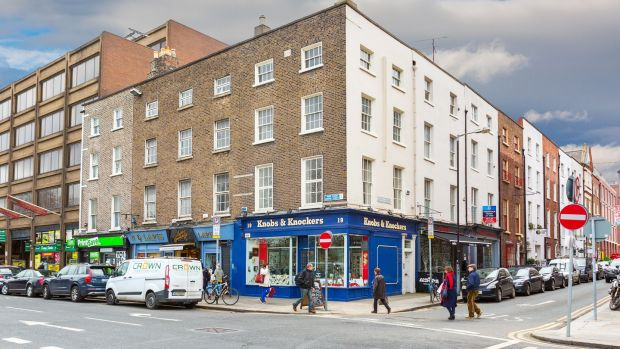 Melford Property Consultants will be looking for bids over €950,000 for the well-known Knobs & Knockers building on the corner of Nassau Street and South Frederick Street