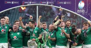 Nine Irish players have been included in our team of the tournament. Photograph: Gareth Fuller/PA Wire.