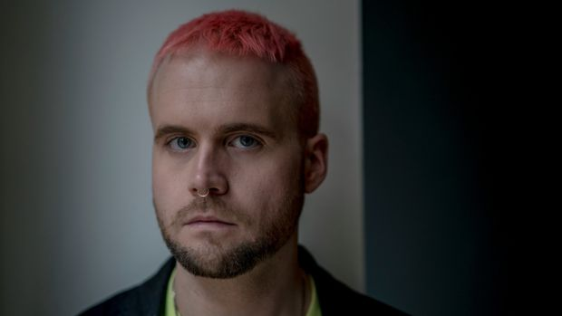 "Whistleblower Christopher Wylie alleged data from the profiles of 50 million Facebook users was used to build models ""to exploit what we knew about them and target their inner demons"". Photograph: Andrew Testa/The New York Times"
