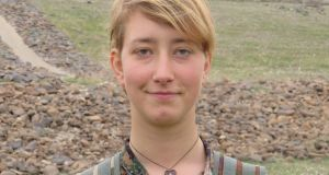 Anna Campbell, a British national who was killed alongside YPJ forces in Afrin. Photograph: YPJ/PA Wire