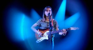 Julien Baker: 'For so long I struggled with these two parts of myself that seem inherently contradictory.' Photograph: Getty Images