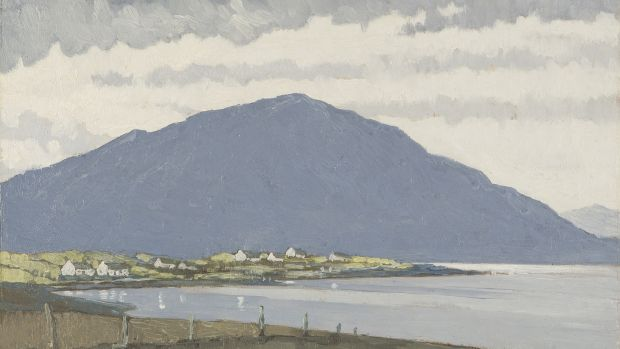 'Looking Towards Achill from the East of Achill Sound' by Paul Henry
