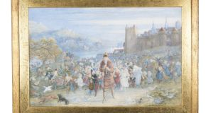 'The Pied Piper of Hamelin' by Richard Doyle, Lot 57 in the auction.