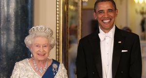 Queen Elizabeth with US president Barack Obama on May 24th, 2011 in London, England. In the Prodigal Tongue, Lynne Murphy explores the relationship between British and American English. Photograph: Getty Images