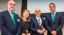 Taoiseach Leo Varadkar awards SFI St Patrick's Day Science Medal to Leading Physicist Prof Margaret Murnane and technology innovator David McCourt