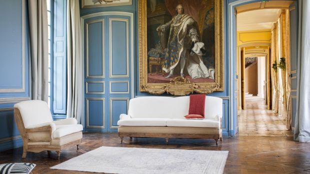 Gustave sofa and matching chair from UK-based Pib Home