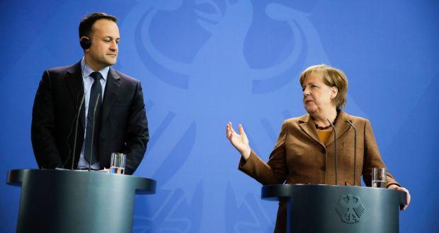 Varadkar 'heartened' by Merkel support