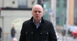 The trial of former CEO of Anglo Irish Bank, David Drumm (51) in now in its 42nd day at Dublin Circuit Criminal Court. Photograph: Collins Courts
