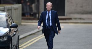 Minister Shane Ross: told Cabinet meeting he would not facilitate any more judicial appointment under 'rotten system'. Photograph: Dara Mac Dónaill