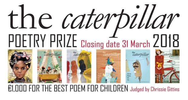Be alert to the world: Caterpillar Poetry Prize judge