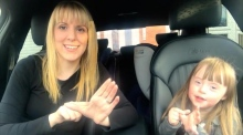 Families celebrate World Down Syndrome Day with 'Carpool Karaoke'