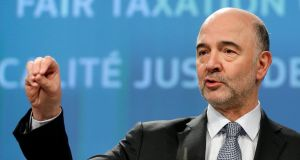 "EU taxation commissioner Pierre Moscovici: ""This win-win situation raises legal and fiscal concerns."" Photograph: Francois Lenoir/Reuters"