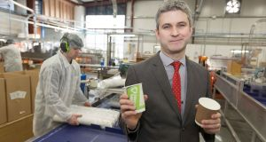 Coffee-cup maker in Ennis leads the world