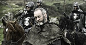 Liam Cunningham in 'Game of Thrones', which was filmed on location in Northern Ireland. Some 30 diverse tourist businesses have grown as a result of the series. Photograph: HBO