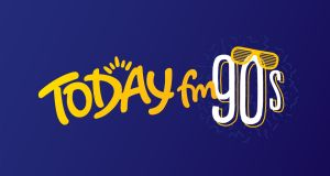 The logo for Today FM's new 1990s-themed service, which will play artists such as Oasis, Britney Spears and the Cranberries, and is one of four new online radio services launched by a rebranded Communicorp Media.