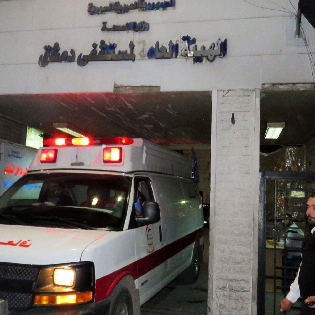 Mortar attack on market kills 44 in Damascus suburb