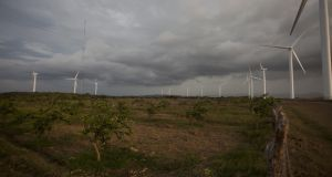 Responsible development and genuine community engagement are pre-conditions if the wind industry is going to continue to flourish, according to the IWEA. Photograph:  Nicolas Garcia/AFP/GettyImages)