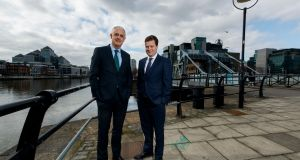 "Richard Martin, managing partner of Ronan Daly Jermyn (RDJ) and Jamie Olden, partner in charge, RDJ Dublin office. ""Our clients will have access to an expanded team of accomplished legal experts,"" said Mr Martin"