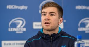 Luke McGrath should be available to face the Ospreys in the Guinness Pro14 this weekend. Photograph: Tommy Dickson/Inpho