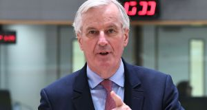 Chief EU negotiator for Brexit, Michel Barnier:  said his work is 'not just about regulations and rules; it is about people'. Photograph: Emmanuel Dunand/AFP
