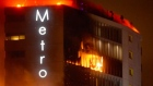 Eyewitness footage captures scale of Metro Hotel fire