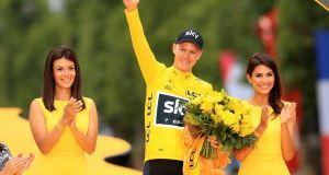 Four-time winner Chris Froome could be denied a place in this year's Tour de France. Photograph: Adam Davy/PA