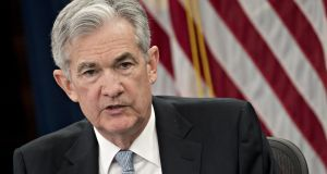 Jerome 'Jay' Powell, chairman of the US Federal Reserve.