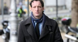 John Tighe (40) of Lavallyroe, Ballyhaunis, Co Mayo, arrives at the Central Criminal Court in Dublin. Photograph:  Collins Courts.