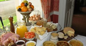 Best country house breakfast: Longueville House, Mallow, Co Cork