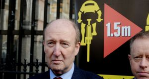 Shane Ross said the decision was made on the basis of a scoring system within the Department and he just 'signed off on that.' Photograph: Alan Betson / The Irish Times