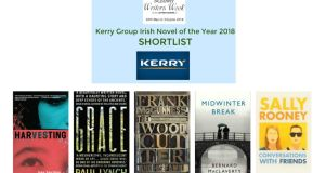 The winner will be announced at the opening ceremony of Listowel Writers' Week on May 30th.