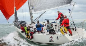 Triple ICRA Champion Joker II Skippered by John Maybury of the Royal Irish Yacht Club in Dublin. This year's ICRA National Championships are heading to Galway Bay for the first time in August. Photo: David O'Brien