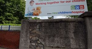 National Children's Hospital site at St James's: HSE says details of  hours required for new paediatric posts have not been decided. Photograph: Eric Luke