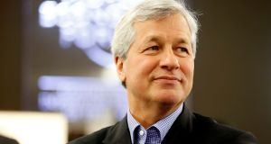 JPMorgan Chase chief executive Jamie Dimon $28.3 million remuneration for 2017 included perks such as personal use of corporate aircraft ($73,921) and personal use of cars ($29,848). Photograph: Jason Alden/Bloomberg