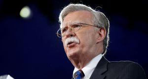 Former US ambassador to the UN John Bolton is set to become Donald Trump's new national security adviser. File photograph: Joshua Roberts/Reuters