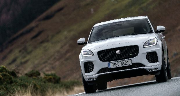 The new Jaguar E-Pace, a five-seat compact SUV that packs the design and performance of a Jaguar sports car into a spacious, practical and connected all-wheel-drive vehicle.