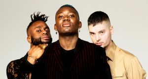 Young Fathers: they will stare you down, as if they're staring down the barrel of a gun
