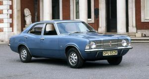 Classic saloon: we used to buy the likes of the Ford Cortina, but they've been eclipsed by bigger, pricier SUVs